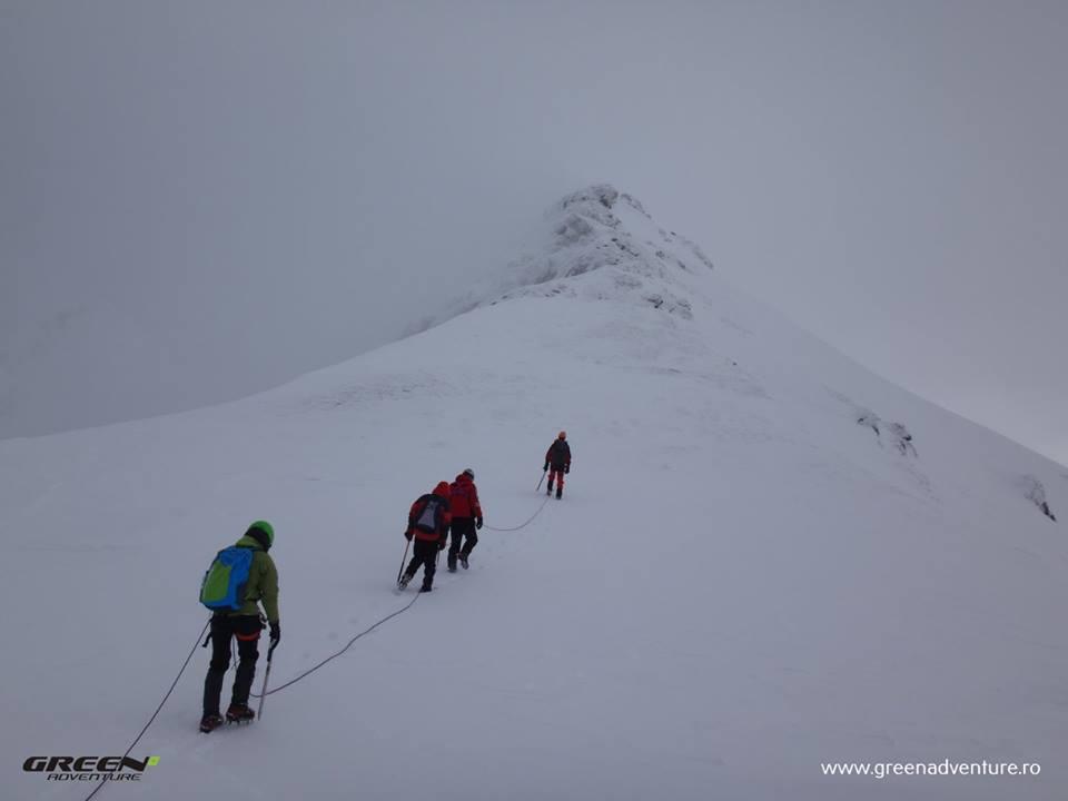 Curs alpinism de iarna la Balea Lac