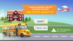 A început a cincea ediție a competiției naționale de educație financiară Bani pentru școala ta™!