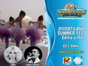 Amna şi Fabian Sanchez urcă alături de copii pe scena Festivalului Divertiland Summer Fest