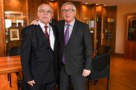 Eurodeputat român - tête-à-tête cu Președintele Comisiei Europene, Jean-Claude Juncker