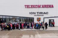Patinoarul Telekom Arena caută printre cei mici viitorii campioni la hochei pe gheață