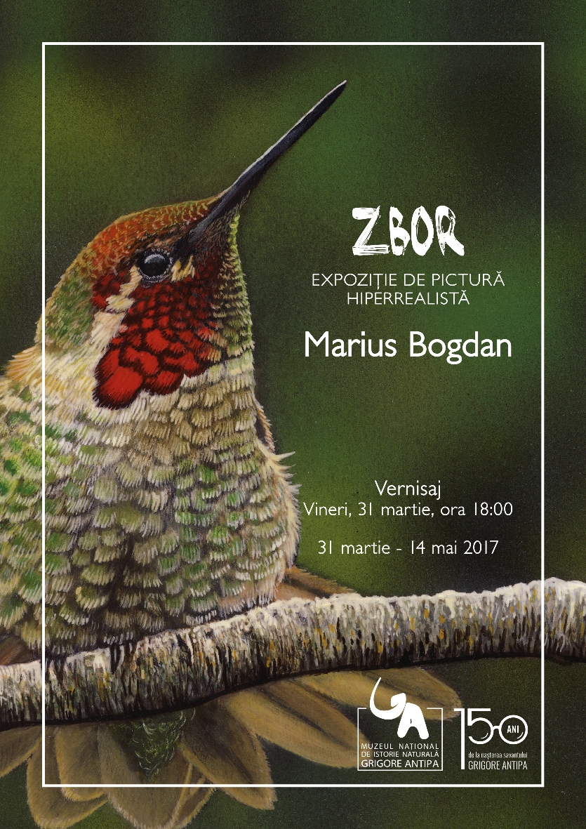 ZBOR – Expoziție de pictură hiperrealistă