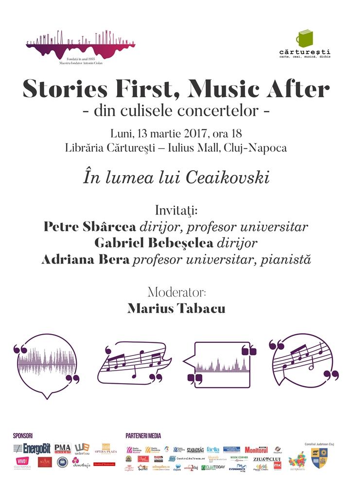 Stories First, Music After - În lumea lui Ceaikovski