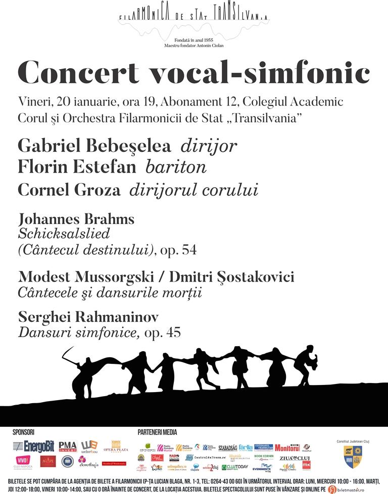 Concert vocal-simfonic - dirijor Gabriel Bebeşelea