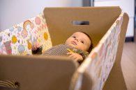 Foldo lanseaza primul patut pentru copii, confectionat din carton