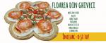 O rețetă de pizza creată pentru Postul de Paște,   Floarea din ghiveci