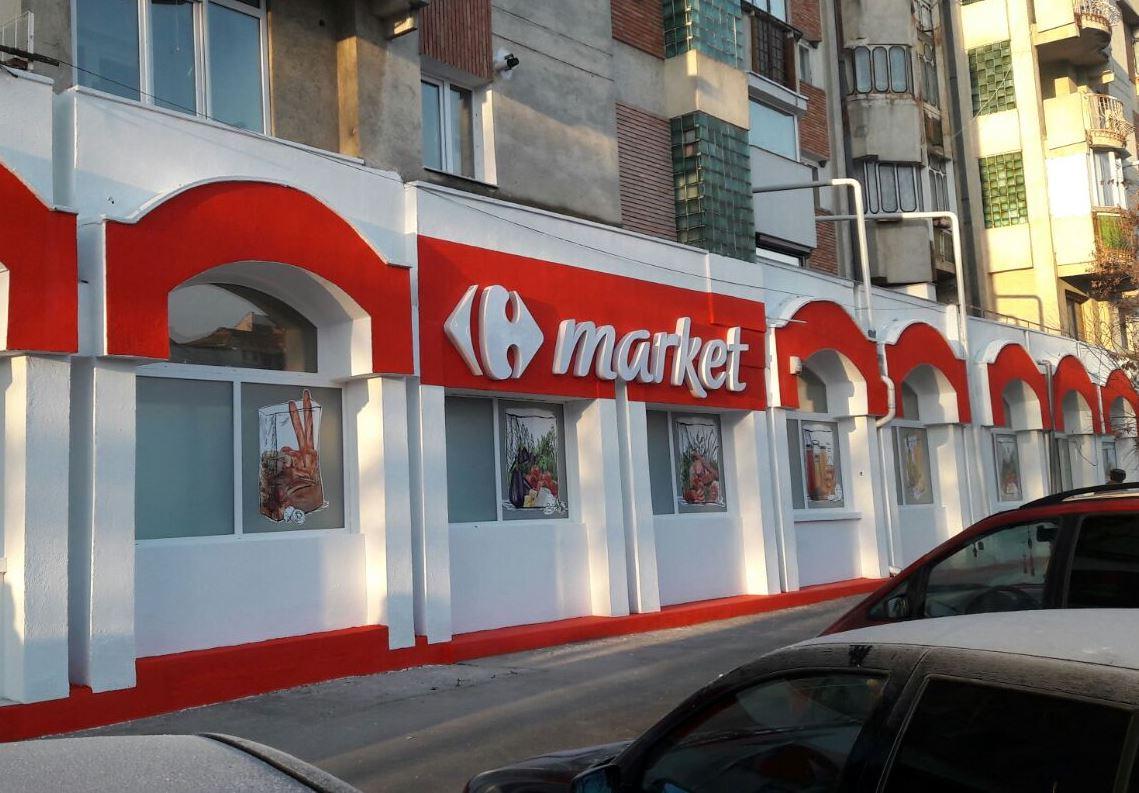 Grupul Carrefour deschide primul supermarket din Botoşani, Market Botoşani Piaţa Mare