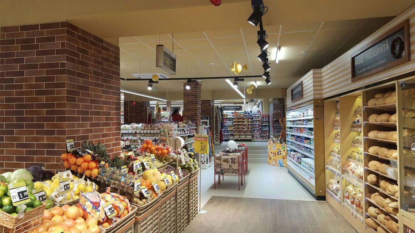 Grupul Carrefour deschide primul supermarket din Ştefăneştii de Jos, Market Ştefăneştii de Jos