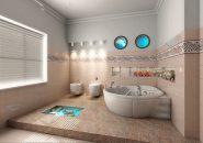 Cum sa obtii mai mult spatiu intr-o baie cu dimensiuni reduse