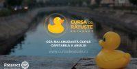 3000 de rățuște se întrec pe Dâmbovița pentru copiii de la Școala pentru Surzi Nr. 1 din București