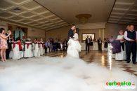 Transforma-ti nunta intr-un eveniment memorabil cu ajutorul ghetii carbonice si fumului greu!