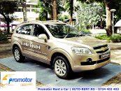 Chevrolet Captiva - masina perfecta pentru un contract de inchirieri auto pe termen lung de la Promotor Rent a Car