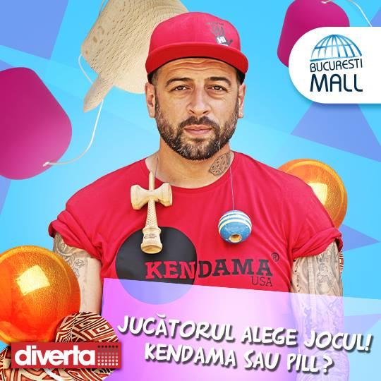 CRBL asteapta fanii Kendama si Pill la Bucuresti Mall