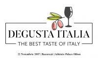 Degusta Italia sărbătorită și la București, pe 22 noiembrie 2017
