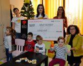 HARD ROCK CAFE București – donaţie în beneficiul Asociaţiei HELP AUTISM