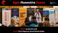 Agile Mammoths Games se întoarce la Cluj pe 13 martie!