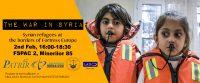 """""""The war in Syria & refugees in Europe"""" avându-l ca invitat pe jurnalistul belgian de investigație Pieter Stockmans"""