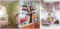 Cum decoram camera copilului de varsta mica?