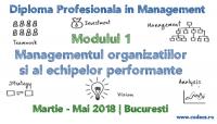 Managementul Organizatiilor si al Echipelor Performante   CODECS