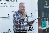 Lansarea Vinum & Carmina, Impletire de vin bun, muzica si poezie, pe terasa grupului The President