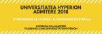 Admitere Universitatea Hyperion 2018