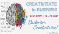Dezlantuie Creativitatea! | 21-22 IULIE 2018 | CODECS