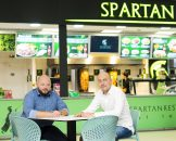 Restaurantul Spartan din Mega Mall a fost redeschis cu o investitie de circa 110.000 euro