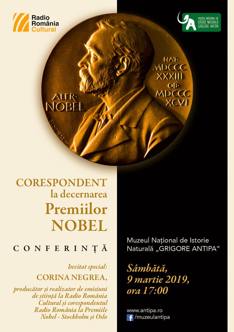 Corespondent la decernarea Premiilor Nobel