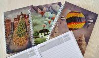Idee de cadou: agende deosebite cu coperți opere de artă