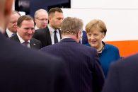 Cancelarul Germaniei, Dr. Angela Merkel și Prim-Ministrul Suediei Stefan Löfven, prezențe notabile la standul LAPP de la Hannover Messe