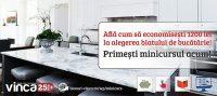 Mini-Curs VINCA - Cum sa masori, comanzi, montezi singur blatul de bucatarie
