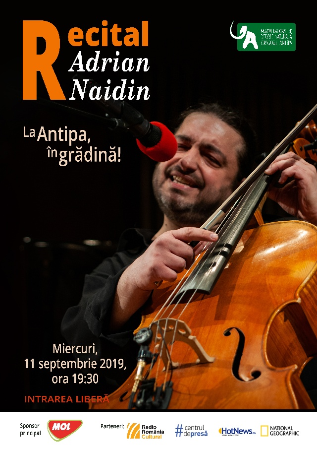 Recital Adrian Naidin la Antipa in Gradina!