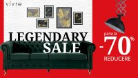 """Vivre lansează campania """"Legendary sale"""" cu reduceri de până la 70% pentru toate categoriile de produse"""