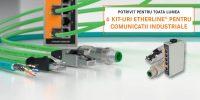 Promotie LAPP Romania la 6 kituri Etherline pentru comunicatii industriale