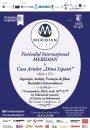"""Festivalul Internațional MERIDIAN la Casa Artelor """"Dinu Lipatti"""" Ediția a II-a, 7-9 noiembrie 2019"""