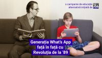 Generația What's App față în față cu Revoluția de la '89