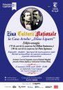 """De Ziua Culturii Naționale,  Mihai Eminescu și Petre Ispirescu vor fi omagiați la Casa Artelor """"Dinu Lipatti"""""""