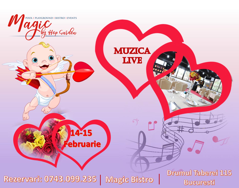 Valentine's Days la Magic Bistro by Hop Garden