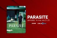 Premieră TV națională - Parazit (Parasite), Oscar pentru cel mai bun film în 2020, va fi difuzat la Film Now în 16 mai