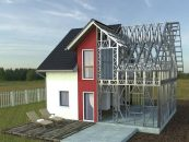 Avantajele caselor construite pe structura metalica