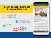 Peste 100 de licee din țară susțin educația financiară în comunitate și învățarea prin resurse digitale interactive