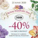 Răsfăț Royal: 40% discount la toate produsele Sabon