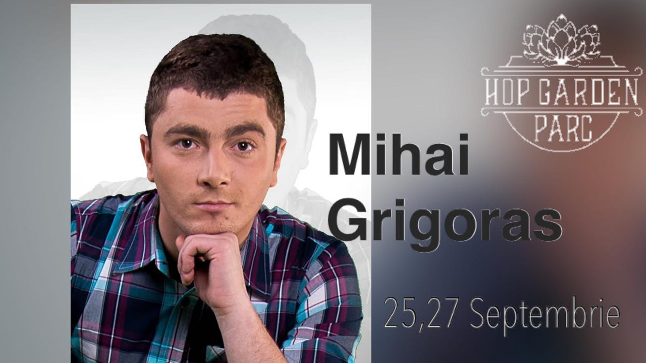 Live music cu Mihai Grigoras la Hop Garden Parc