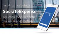 Faceți cunoștință cu SocrateExpense - Aplicația mobilă pentru deconturi de cheltuieli