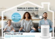 Purifică #AerulFamilieiTale cu Pure Air Genius de la Rowenta