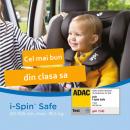 Scaunul auto i-Spin Safe de la Joie, rezultate de exceptie la testarea ADAC din Octombrie 2020