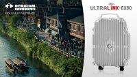 Intracom Telecom: Performanța superioară a sistemului radio de mare capacitate E-Band UltraLink™-GX80 cu CPRI Option 7