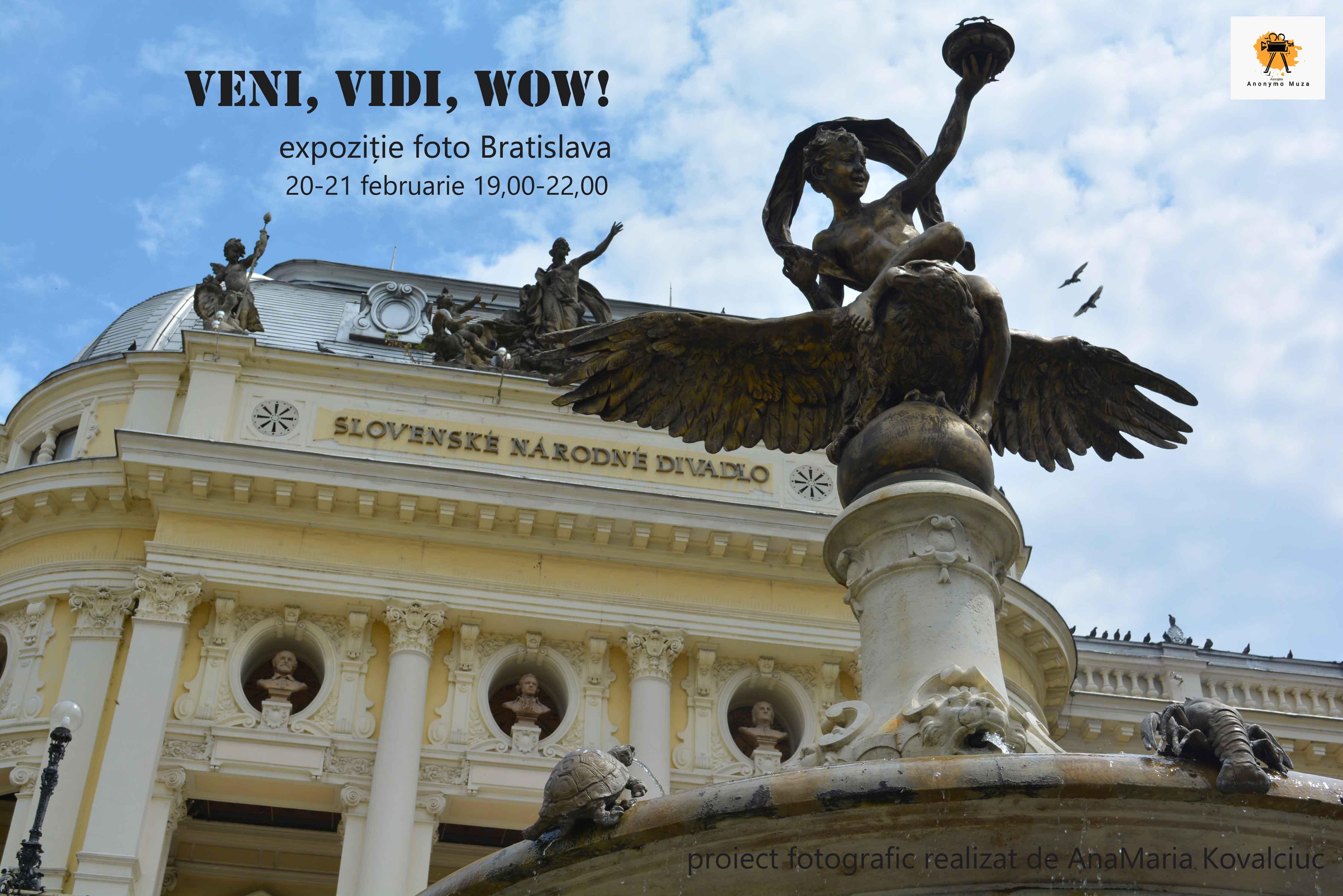 Veni, vidi, WOW! - Înconjurul Europei - Bratislava