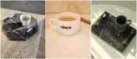 Noua colectie de tavi de servire din marmura si granit VINCA