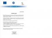 ÎNCEPERE PROIECT -  GRANTURI CAPITAL DE LUCRU - MASURA 2 - ROXEMI SRL